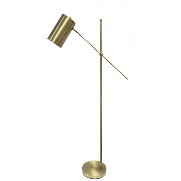 Meme Floor Lamp Brass