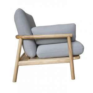 Norm Armchair Pale Grey