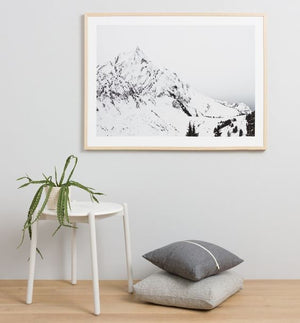Alps Framed Print