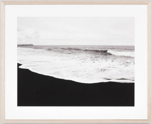 Black Sands Framed Print