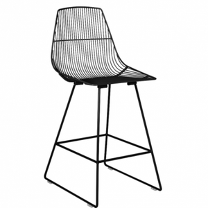Contour Bar Stool - Gloss Black