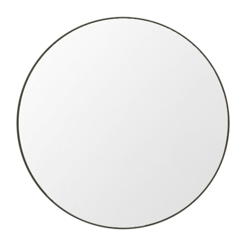 Huge Discount FB Deal Flynn Round Mirror - Black + White