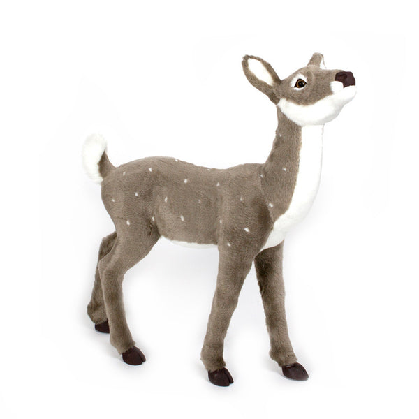 LIFE SIZE FAWN GREY