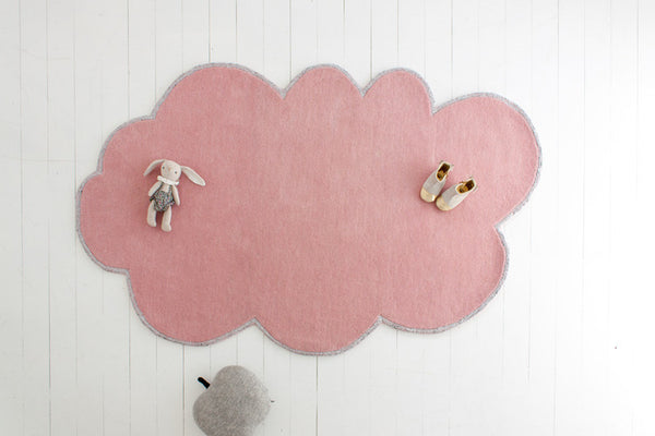 SILVER LINING CLOUD RUG - BLOSSOM