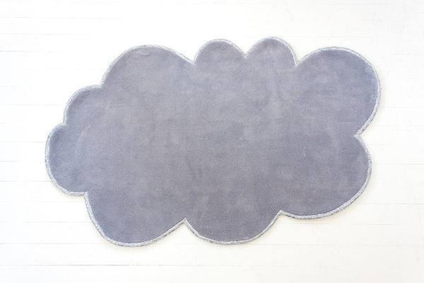 SILVER LINING CLOUD RUG - CLOUDY