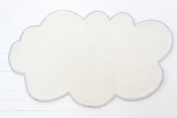 SILVER LINING CLOUD RUG - VANILLA CREAM