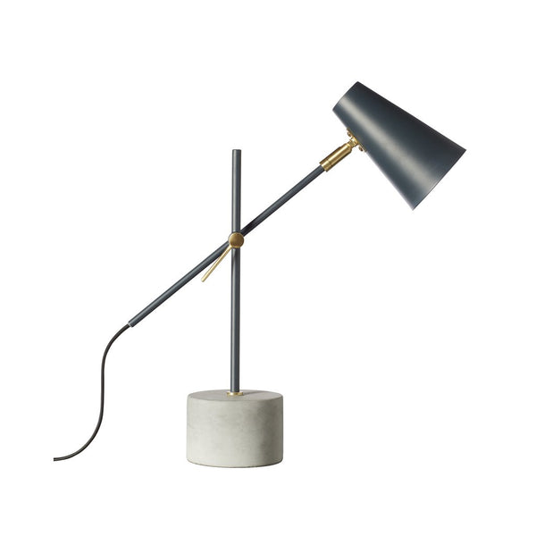 Kenny Table Lamp - Charcoal