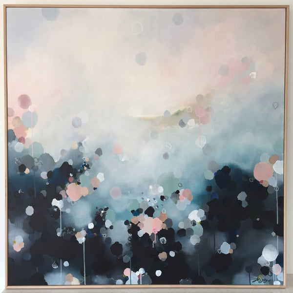 Jessie Rigby 'Nebula Haze - Cloud Haze' 1250mm x 1250mm