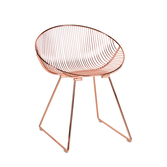 Pop Chair - Metallic Copper