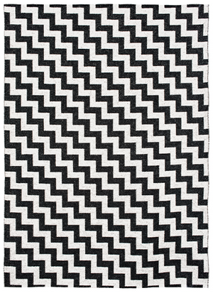 Gunnel Rug - Black ( Indoor / Outdoor )