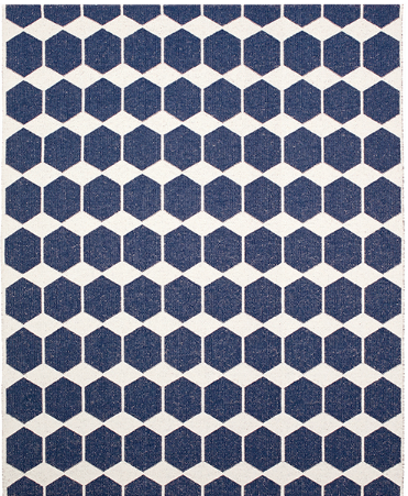ANNA RUG - DENIM ( INDOOR / OUTDOOR )