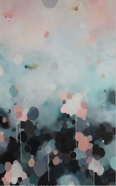 "Jessie Rigby Art work ""Nebula Haze #1 - Cloudy Haze"" 1040mm x 780mm"
