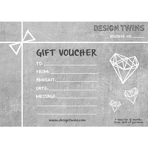 Gift Card Design Twins