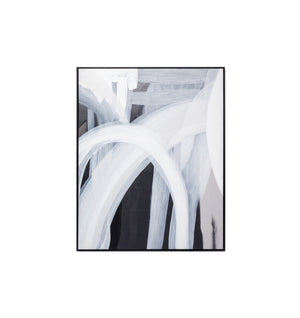 Airlie Black & White Framed Artwork by Sarah Brooke