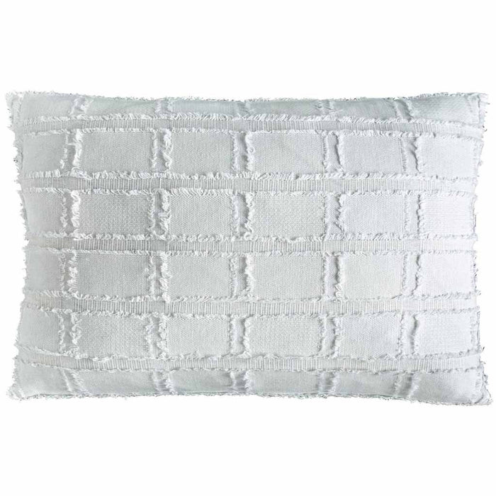Bedu Rectangle Cushion White