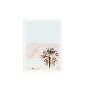 Blush Scenery Framed Print