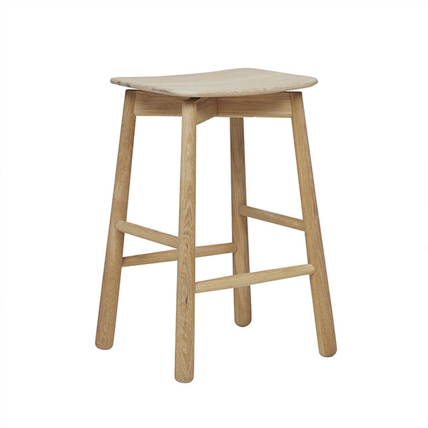 Sketch Root Barstool - Light Oak