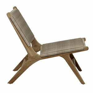 Noosa Open Occasional Chair - Mushroom (OUTDOOR)