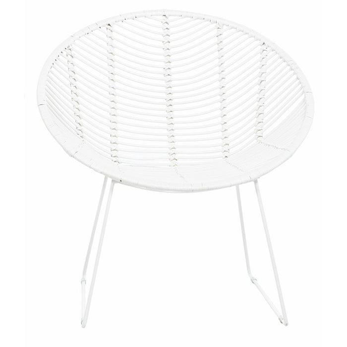 Tango Leaf Occasional Chair - White