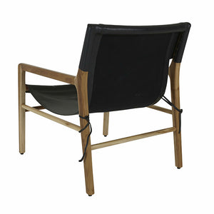 Wilkie Sling Occasional Chair - Black