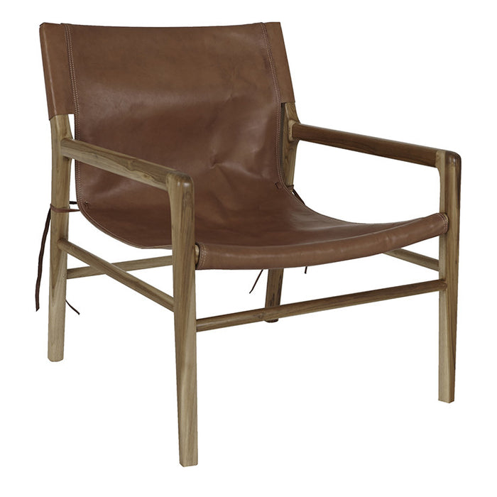 Wilkie Sling Occasional Chair - Tan