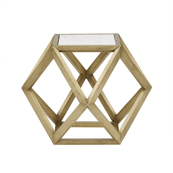 Taj Hexagonal Marble Coffee Table