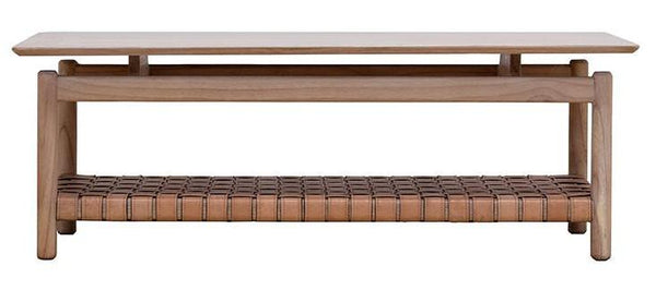 Seed Leather Coffee Table