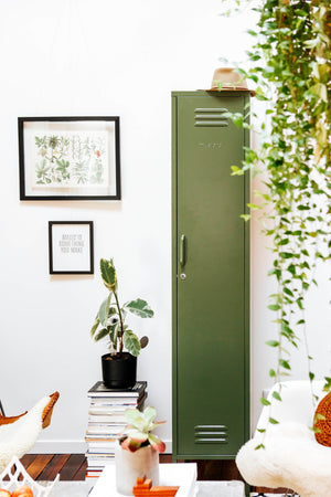 The Skinny Locker in Olive