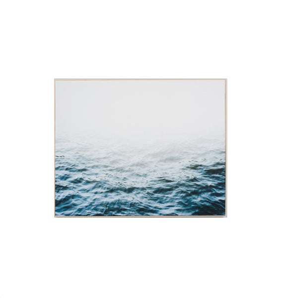 Distant Waters Landscape Framed Print