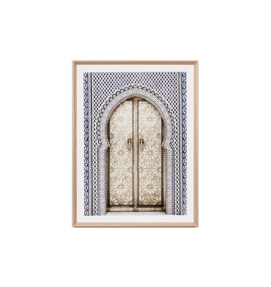 Golden Door Framed Print