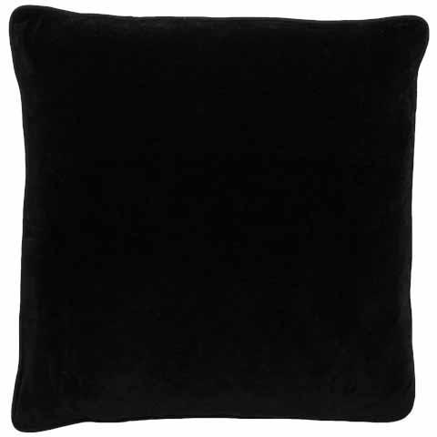 Lynette Velvet Cushion Black