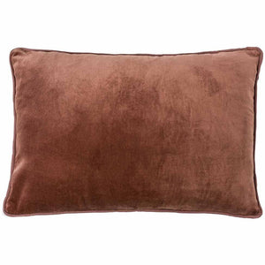 Lynette Velvet Rectangle Cushion Desert Rose