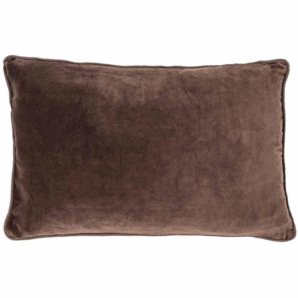 Lynette Velvet Rectangle Cushion Preonze