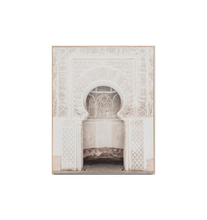 Moroccan Doorway Framed Print