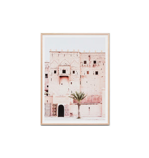 Moroccan Tower Framed Print