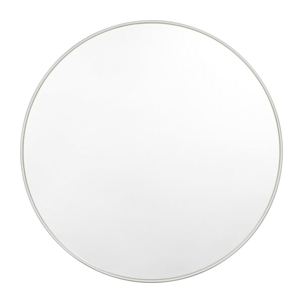Bjorn Round Mirror - Dove Grey