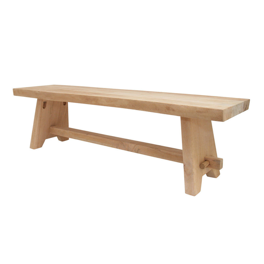 NATURAL WOODEN BENCH