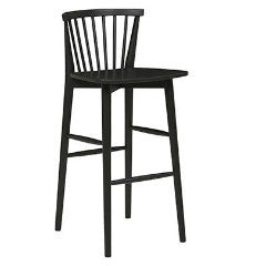 Sketch Requin Bar Stool - Black