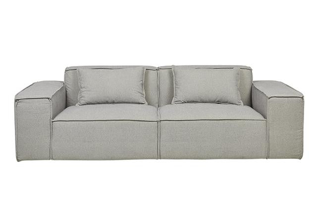 Felix Block 3 Seater Sofa - Cloud