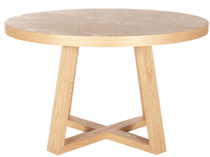 Ascot Round Dining Table - Natural Ash