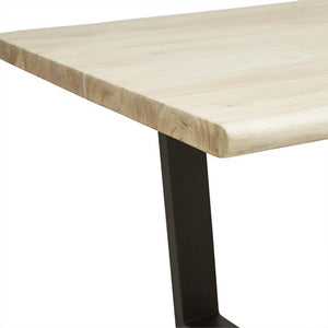 Shelter Arc Dining Table - Bleached Acacia
