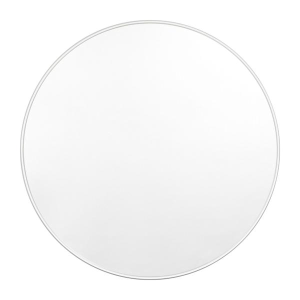 Bjorn Round Mirror - Bright White