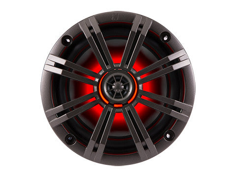 "Kicker KM654LCW Marine Grade 6.5"" 2Way Coaxial Speakers"