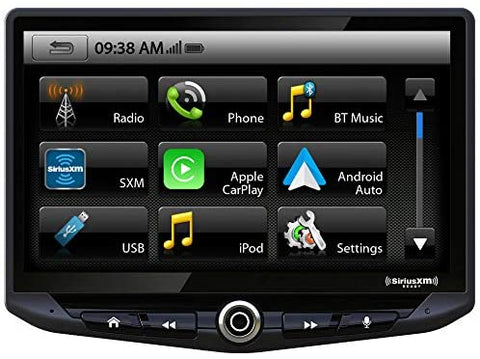 "Stinger HEIGH10 10.1"" Big Screen Experience AV Receiver w/Apple CarPlay & Android Auto"