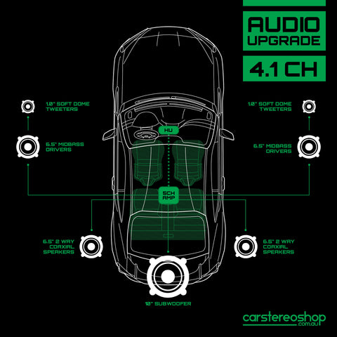 4.1CH Audio Upgrade Pack