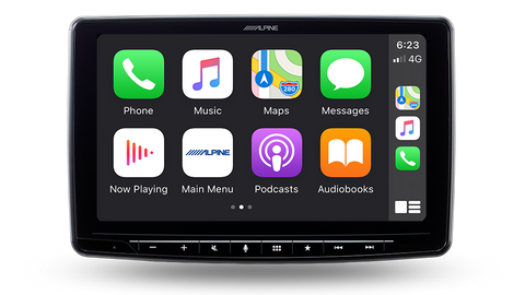 "Alpine ILX-F2611E HALO11 11.0"" Big Screen Experience AV Receiver w/Apple CarPlay & Android Auto & DAB+"