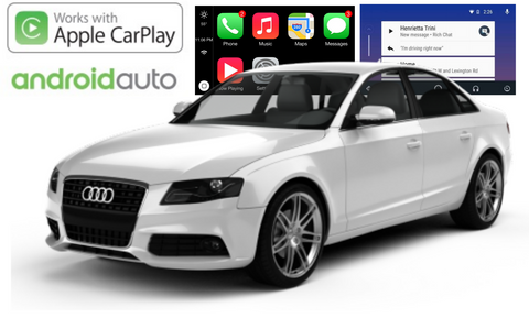 Apple CarPlay/Android Auto Add-On for Audi A4/A5/Q5 non MMI