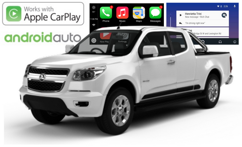 Apple CarPlay/Android Auto Add-On for Holden Colorado RG 2014 - 2016