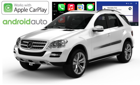Apple CarPlay/Android Auto Add-On for Mercedes Benz A Class/CLA Class/GLA Class