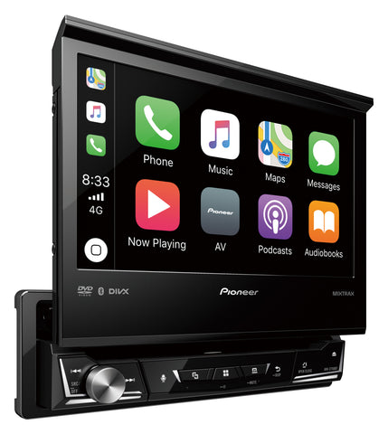 "Pioneer AVH-Z7150BT 1DIN 7.0"" AV Receiver w/Apple CarPlay, Android Auto & Bluetooth Handsfree"